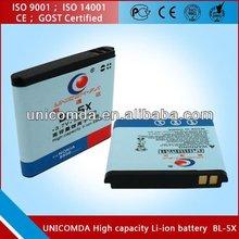 Unicomda High-capacity Li-ion mobile battery for Nokia BL-5X