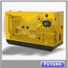 50Hz CE approved Water cooled Lovol Silent diesel generating set with 8 hours base fuel tank