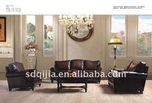 American classic style leather sofa furniture