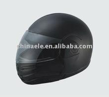 black filp up helmet