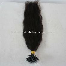 Hot sales brazilian virgin loop ring hair extension
