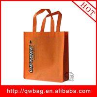Reusable PP nonwoven flag bag non woven Shopping grocery bag