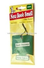 Vanilla paper air freshener