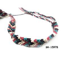 2013 fashion colorful braided bracelet
