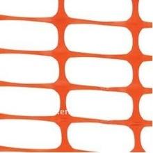 Orange plastic snow Fence Barrier