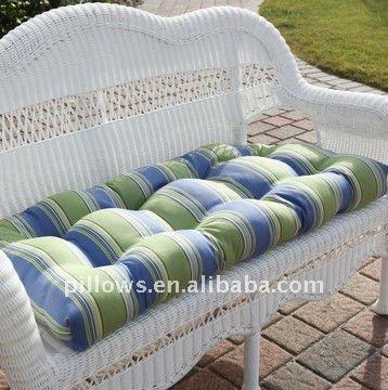 Balanc n de coj n de la silla para muebles del patio - Como hacer cojines para sillas ...
