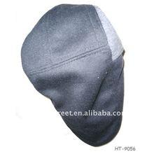 Man fashion printing beret Hat