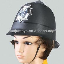 PLASTIC BRITISH POLICE CAP ,plastic british police hat CHILDREN'S TOYS