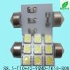 High quality LED car festoon light 9SMD