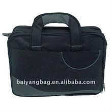 neoprene laptop briefcase bag in black color