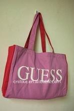 promotional organic cotton canvas bag