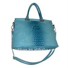 KD11291 hot sale lady fashion crocodile pu handbag