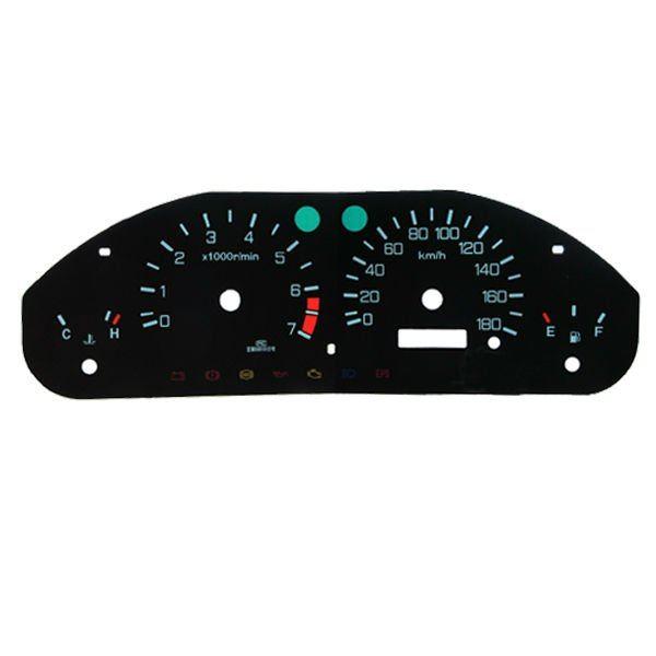 2d Flat Auto Dashboard Gauge