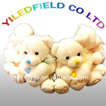 Soft Valentine Teddy Bear with Heart