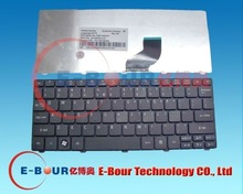 Keyboard for acer aspire one d260 532 532H laptop keyboard notebook keyboard US ebourny 1