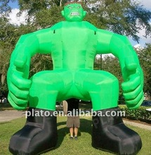 Attractive Giant advertising inflatables green monster