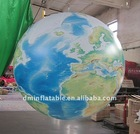 new digital printing advertising inflatable earth globe
