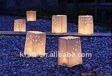 color 2011 chinese luminaria candle bag/wedding candle lanterns/paper lanterns