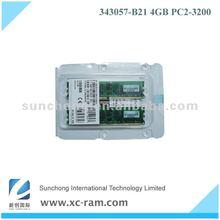 2013 Hot Selling! 343057-B21 / 345114-051 Server Memory for Server, 4GB (2*2GB) REG PC2-3200 400MHz