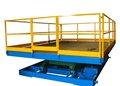 7000kg capacidade de carga de elevador elétrico scissor tabela
