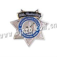 good quality metal customized name badge
