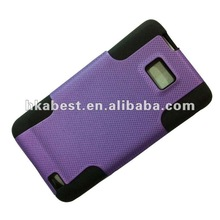 Hybrid mesh design Snap On Protector Case for Samsung Galaxy S2 i9100