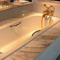 vendono bene quadrato smaltato cast iton vasca da bagno di alta qualità american standard