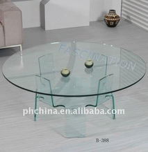 Clear Acrylic Coffee Table,Tea Table,Round Table, ACT_058