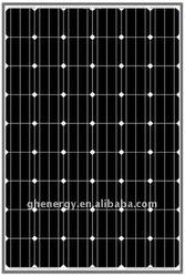 mono solar 190w solar module 12v, chinese solar panel price