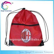Football Club Drawstring Bag with pocket