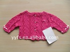 girl's clothes,baby clothing, cotton sweater