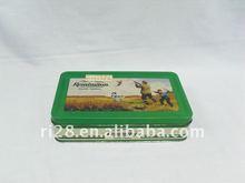 Retangular caixa de lata de chocolate { CF0062 }