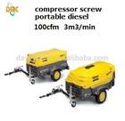 Atlas Copco diesel portable compressor XAS137Dd