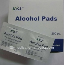 disposable sterile alcohol prep pad,70% isopropyl alcohol