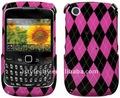 2013 vendita calda anteriore e posteriore custodia rigida per blackberry curve 3g 9300/9330/8520/8530