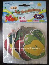 paper hanging air freshener