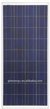 130w PV Photovoltaic Panel with 36 pcs Multi Silicon