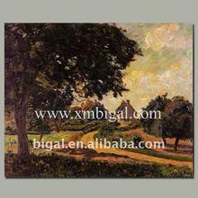 impressionist oil painting landscape design