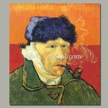 Van Gogh impressionist portrait painting