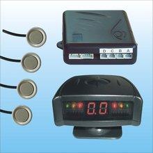LED Display Reverse Backup Radar System Kit