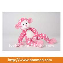Lovely Pink Dot Monkey Plush monkey