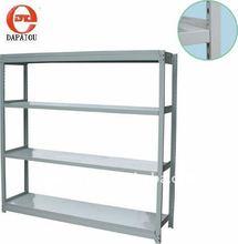 Middle duty warehouse rack shelf
