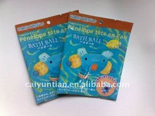 bath ball plastic bag/plastic bag for bath ball