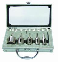 Electroplated Core Bit 7 pcs/set 20/25/30/35/40/HSS Drill,L Wrench