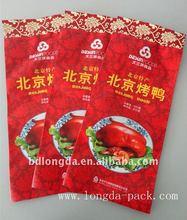 PET/PE Roast duck plastic fast food bag