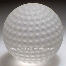 Golf Decoration Golf Gift Ideas Frosted Crystal Golf Ball 1 1/2""