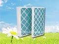 Pre feierte esterasdecoches filtro de pliegues del panel del filtro para pre- filtro
