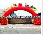 PVC advertising inflatable arch door