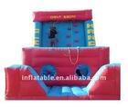 children inflatable rock climbing wall amusement