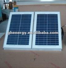 solar powered 30watts/21V poly-crystalline solar panels